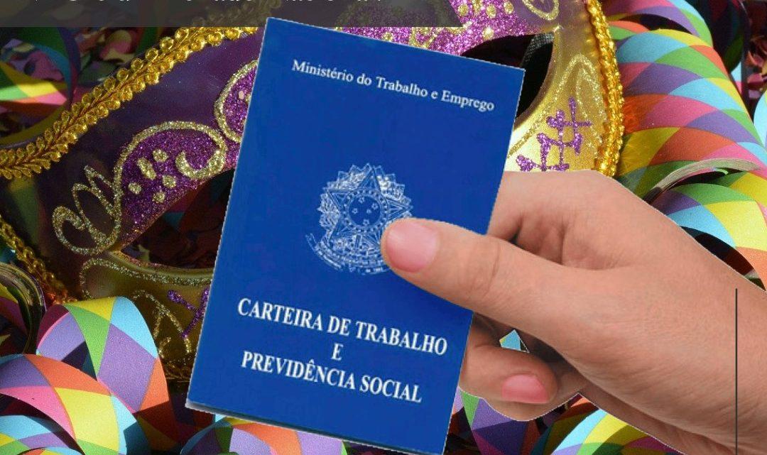 Você sabia que que o Carnaval NÃO é um Feriado Nacional?