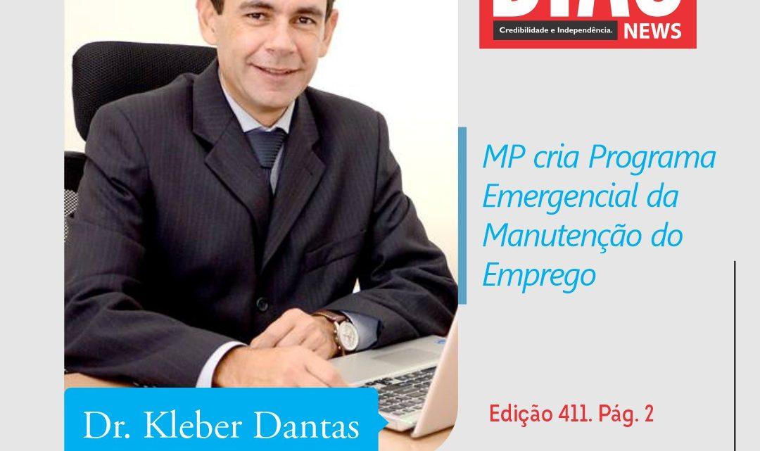 MP cria Programa Emergencial da Manutenção do Emprego
