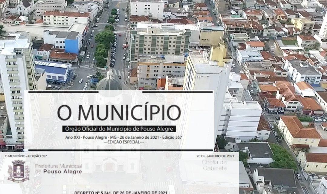 Novo decreto flexibiliza funcionamento de alguns serviços em Pouso Alegre
